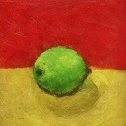 Michelle Calkins - Lime with Red and Gold