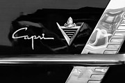 Lincoln Photos Art - Lincoln Capri Emblem by Jill Reger