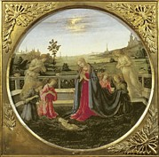 Adoration Prints - Lippi, Filippo, Called Filippino Print by Everett