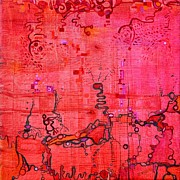 Antennae Painting Prints - Listen Print by Regina Valluzzi