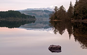 Landscape Photo Posters - Loch Ard Poster by John Farnan