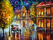 Leonid Afremov - Los Angeles 1930