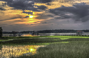 Lowcountry Sunset Print by Dale Powell