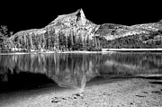 Lake Framed Prints - Lower Cathedral Lake Framed Print by Cat Connor