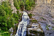 Stone Steps Prints - Lucifer Falls  Print by Robert Harmon