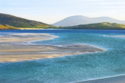 Isle Of Harris Framed Prints - Luskentyre Bay Framed Print by Jacqi Elmslie