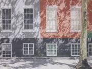 Village Pastels Prints - MacDougal Street Print by Harvey Rogosin