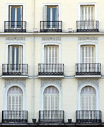 Facades Photo Posters - Madrid Poster by Frank Tschakert