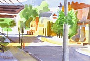 Small Town Paintings - Main Street South II by Kip DeVore