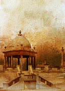 National Park Paintings - Makli Hill by Catf
