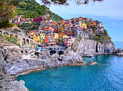 Christy Woodrow - Manarola Cliffside...