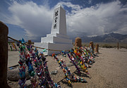 Paper Valley Prints - Manzanar War Relocation Center Print by Jim West