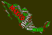 Bruce Nutting - Map of Mexico