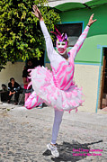 Ballet Dancers Photo Prints - Mardi Gras in Mexico Print by David Perry Lawrence