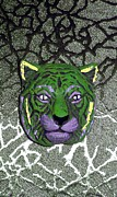 Cheetah Digital Art - Mardi Gras Wildcat  by Joseph Baril