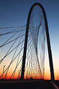 Nosyreva Metal Prints - Margaret Hunt Hill bridge Metal Print by Elena Nosyreva