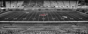 Stadium Seats Art - Martin Stadium at Washington State by David Patterson