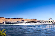 Corps Of Engineers Prints - McNary Dam Print by Robert Bales