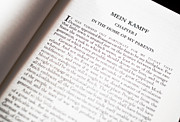 Mein Kampf Print by Franck Metois