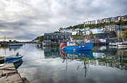 Kernow Photos - Mevagissey in Cornwall by Helen Hotson