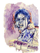 Michael Jackson Print by MB Art factory