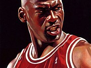 Nba Art - Michael Jordan Poster by Sanely Great