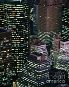 Midtown Manhattan Print by Rafael Macia