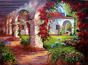 San Juan Paintings - Mission San Juan Capistrano by Gail Salituri