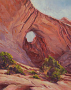 Moab Painting Prints - Moab By Morning Print by Shawn Shea