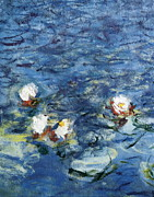 Bassin Art - Monet, Claude 1840-1926. Waterlilies by Everett