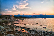 Mono Lake Framed Prints - Mono Lake Sunset Framed Print by Cat Connor