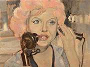 Monroe Painting Originals - Monroe Effect by Joe Godin
