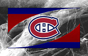 Montreal Hockey Prints - Montreal Canadiens Print by Joe Hamilton