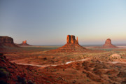 American Indian Art - Monument Valley by Christine Till