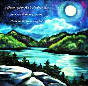 Arkansas Paintings - Moonlighting by Marla Hoover