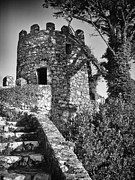 Castelo Metal Prints - Moorish Castle Metal Print by Jose Elias - Sofia Pereira