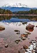 Jamie Pham - Mount Shasta Reflection -  Lake Siskiyou in California with reflections.