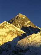 Tim Hester Prints - Mt Everest Print by Tim Hester