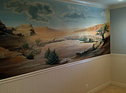 Sports Murals Paintings - Mural Artist - Wall Mural - Muralist by Bijan Habashi