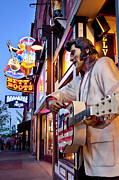 Nashville Photo Metal Prints - Music City USA Metal Print by Brian Jannsen