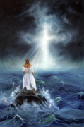 Storm Prints Painting Posters - My Deliverer Poster by Jeanette Sthamann