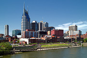 Jeff Holbrook Art - Nashville Skyline by Jeff Holbrook