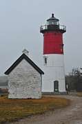 Catherine Reusch Daley Prints - Nauset Light Print by Catherine Reusch  Daley