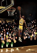 Mark Givens - Nba Legend- James Worthy