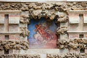 Old Structure Framed Prints - Niche Fresco in Real Alcazar of Seville Framed Print by Artur Bogacki