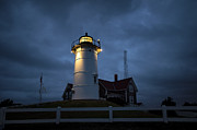 Threatening Prints - Nobska Lighthouse Print by John Greim