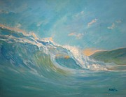 Inspirational Paintings - North Shore Oahu by Jim Noel