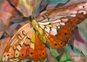 Sacred Space Posters - Northern Clan of the Butterfly  Poster by Susan Cafarelli Burke
