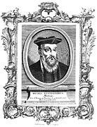 Astrologer Framed Prints - Nostradamus (1503-1566) Framed Print by Granger