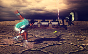 Professional Tennis Player Prints - Novak Djokovic Print by Best Fashion Photo